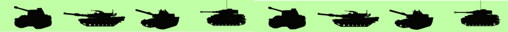 区切り戦戦車